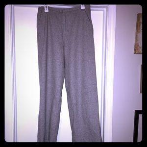 NWOT Old Navy Wool Gray Pants w/ Lining Sz 8